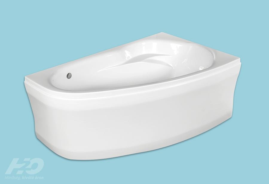 H2O Kitty jobbos aszimmetrikus fürdőkád