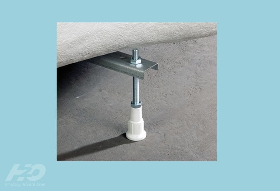 Vízszintező láb peremrögzítő csomaggal