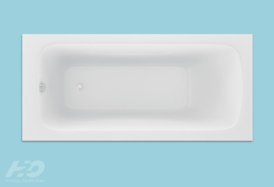 Danuta fürdőkád felülnézet